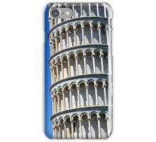 Leaning tower from the world famous Piazza dei Miracoli in Pisa, Italy. iPhone Case/Skin