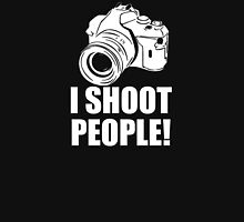 I Shoot People, Funny, Photographer, Camera Photography Unisex T-Shirt