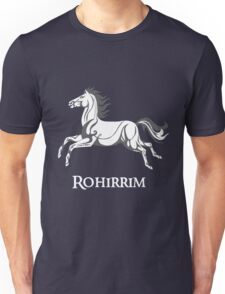 White horse of Rohan Unisex T-Shirt