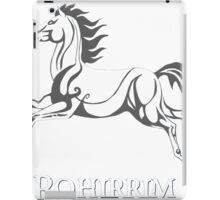 White horse of Rohan iPad Case/Skin