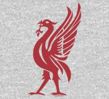 Liverpool Liver Bird Red  Kids Clothes