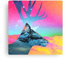 Matterhorn vs Rendeer Canvas Print