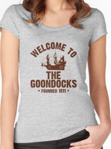 Welcome to the Goondocks Women's Fitted Scoop T-Shirt