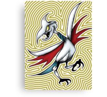Skarmory- The Wall of Johto  Canvas Print