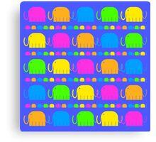 The Elephants' Parade Canvas Print