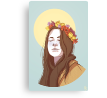Amy Dyer: The Beautiful Genius Canvas Print