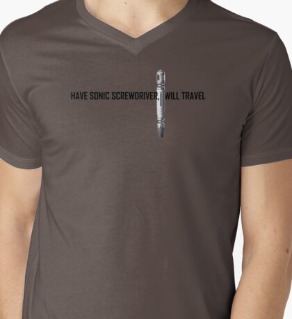 Have sonic screwdriver Mens V-Neck T-Shirt