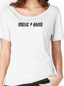 Music Band Women's Relaxed Fit T-Shirt