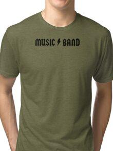 Music Band Tri-blend T-Shirt