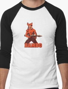 Bambo Men's Baseball ¾ T-Shirt