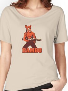 Bambo Women's Relaxed Fit T-Shirt