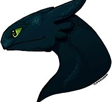 Alpha Dragon by tobiejade