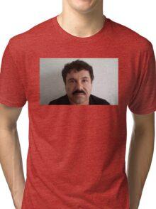 EL CHAPO   MUGSHOT Tri-blend T-Shirt