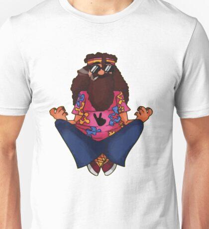 Hippy Meditating Unisex T-Shirt