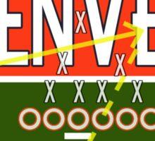Denver Touchdown Sticker