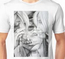 Memories of yesterday, 2016, 50-70cm, graphite crayon on paper Unisex T-Shirt