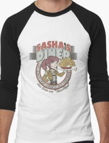 Sasha's Diner Men's Baseball ¾ T-Shirt