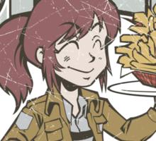 Sasha's Diner Sticker