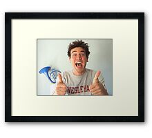 ted mosby  Framed Print