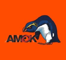 AMOK - VXP - vin the xtreme penguin Kids Tee