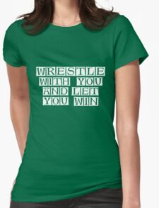 you win  Womens Fitted T-Shirt