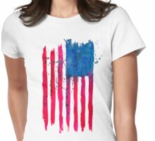 Watercolor Flag of the USA vertical T-Shirt