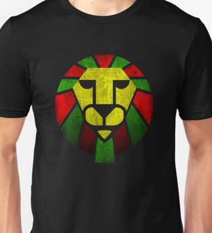 Reggae Rasta Lion. Unisex T-Shirt