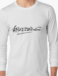 J. R. R. Tolkien Signature Long Sleeve T-Shirt