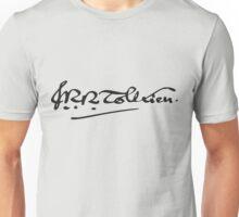 J. R. R. Tolkien Signature Unisex T-Shirt