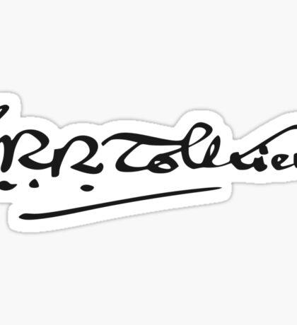 J. R. R. Tolkien Signature Sticker