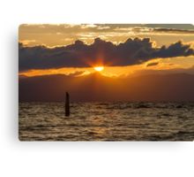 Sunset at Zephyr Cove Canvas Print