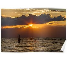 Sunset at Zephyr Cove Poster
