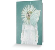 Pale Dreamer Greeting Card