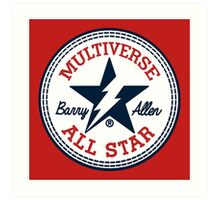 Multiverse All Star Art Print