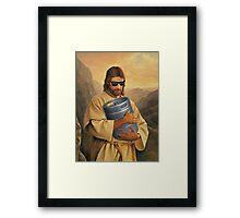 Jesus Party Framed Print
