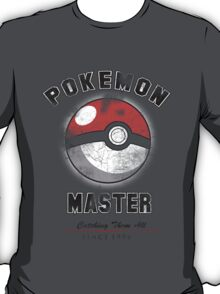 Pokemon Master since 1996 T-Shirt