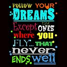 follow your dreams by yvonne willemsen