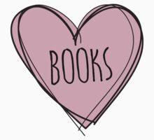 Reading books Kids Tee