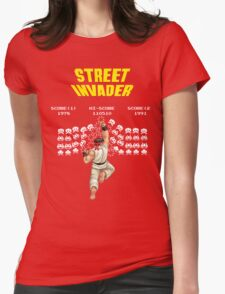 Street Invader Womens Fitted T-Shirt