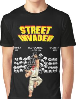 Street Invader Graphic T-Shirt