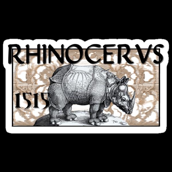 RHINOCERVS 1515 by dennis william gaylor