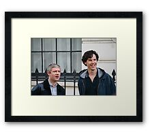 benedict and martin Framed Print