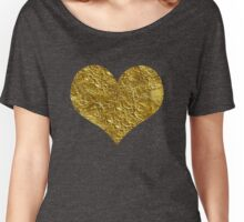 heart of gold | Golden Women's Relaxed Fit T-Shirt