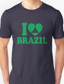 I Heart Brazil  T-Shirt