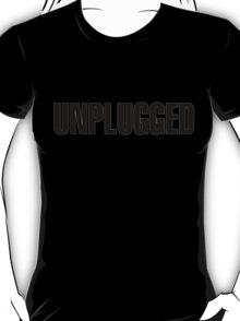 Unplugged Black T-Shirt