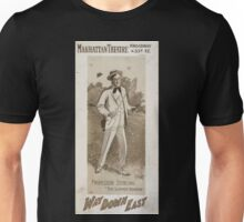 Performing Arts Posters Professor Sterling in Way down East 0133 Unisex T-Shirt