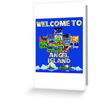 Welcome to Angel Island Greeting Card