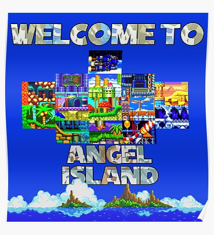 Welcome to Angel Island Poster