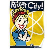 Rivet City Run Poster