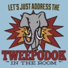 Big Bang Theory Inspired - Amy Farrah Fowler's Language - Tweepodok - Elephant - Elephant in the Room - TBBT by traciv